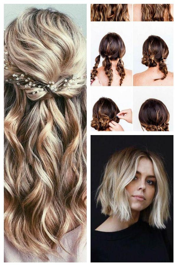 Prom Hoco Hair Wedding Updo Hairstyles Braid Styles For Long Or Medium Length H Medium Length Hair Styles Braids For Long Hair Braid Styles