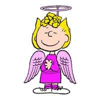 "Marmont Hill - ""Sally Angel Costume"" Peanuts Print on Canvas"