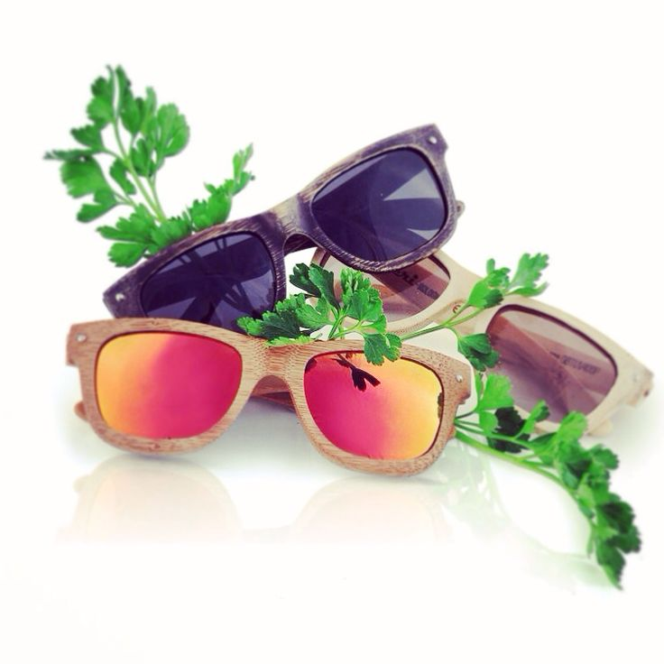 ECOlution è dappertutto come il prezzemolo #bamboo #sunglasses #raleri #ecolution #eyeswear