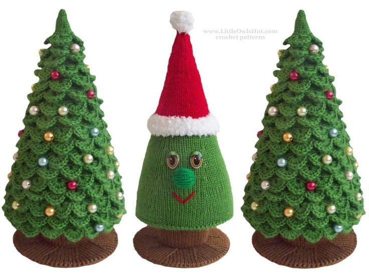 (6) Name: 'Knitting : 009 Christmas tree Knitting Zabelina