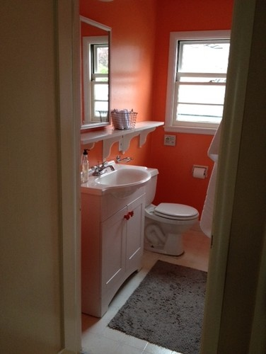17 Best Images About Bathrooms In Orange On Pinterest