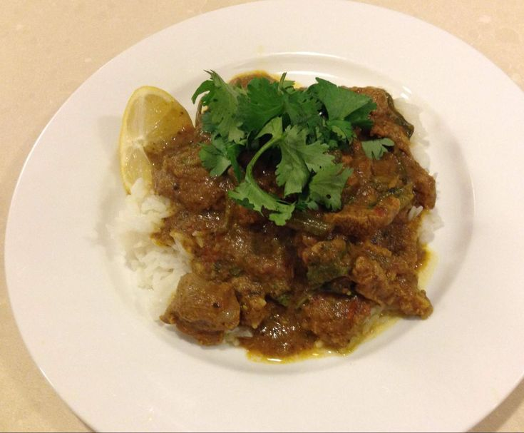 Recipe Creamy Lamb Curry by griseus - Recipe of category Main dishes - meat