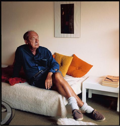 Владимир Набоков. Гштаад, Швейцария, 1971 год © Фото Хорста Таппе.