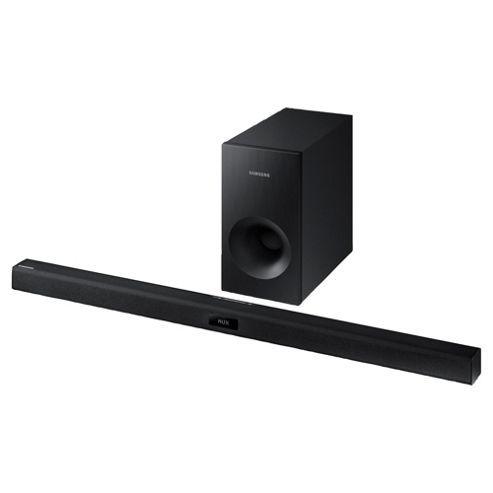 Buy Samsung HW-J355 120W Soundbar with Bluetooth & External Sub from our Samsung range - Tesco