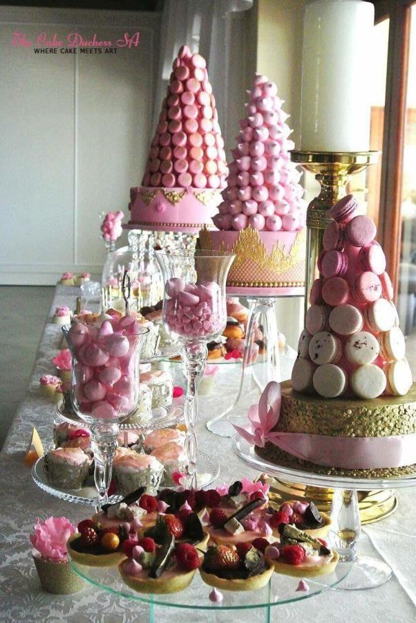 Fantasy Cake Table by Sumaiya Omar - The Cake Duchess SA - http://cakesdecor.com/cakes/236163-fantasy-cake-table