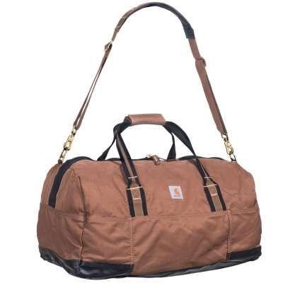 "Carhartt Bags: 100211 02 Water Repellent 23"" Legacy Carhartt Brown Gear Bag"