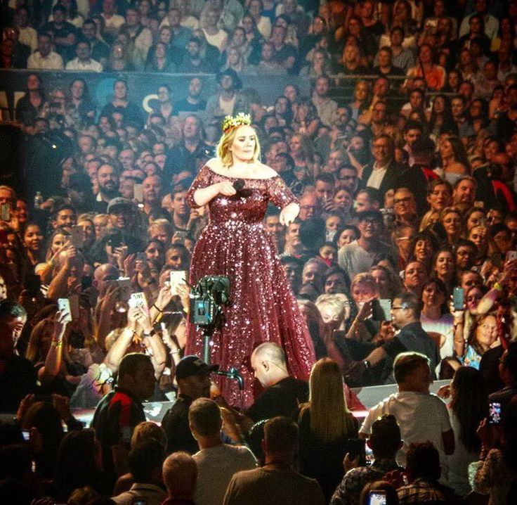 Adele performing at 'ANZ Stadium', Sydney, Australia (Mar. 10, 2017)