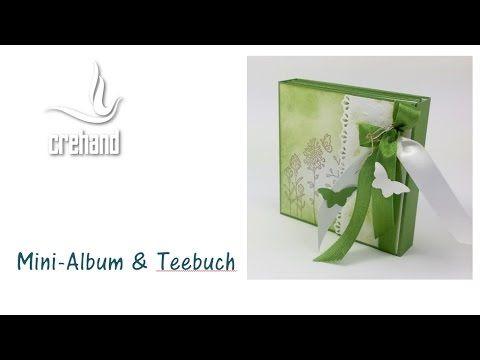 Minialbum & Teebuch in Einem mit Stampin' Up! - YouTube