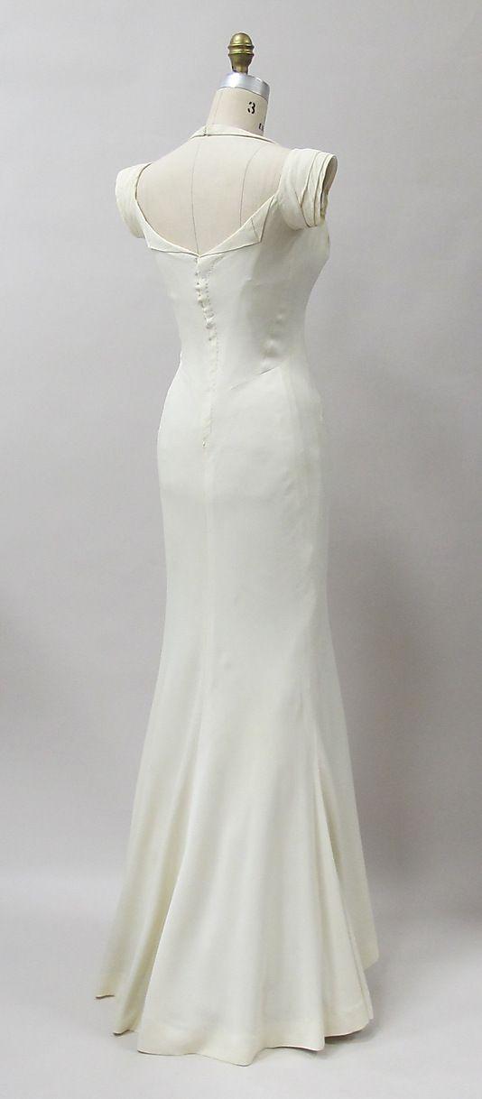 Charles James dress - back - 1933.