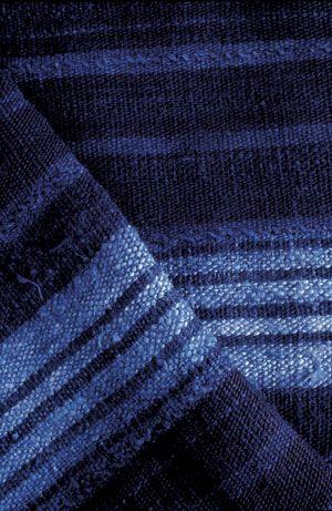 Plaid coton biologique; création Aboubakar Fofana