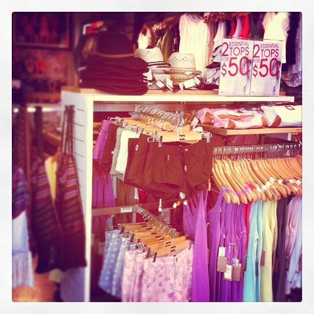 Shop til you drop in #Bondi #Beach