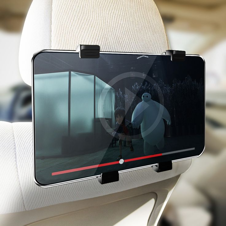 SECURE GRIP UNIVERSAL HEADREST TABLET MOUNT FOR 7″ TO 10.2″ TABLETS   #tabletgadgets #tabletaccessories   www.kuteckusa.com.