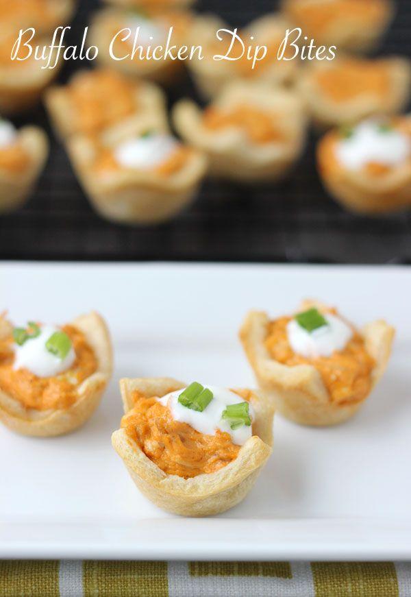 Buffalo Chicken Dip Bites | Blahnik Baker