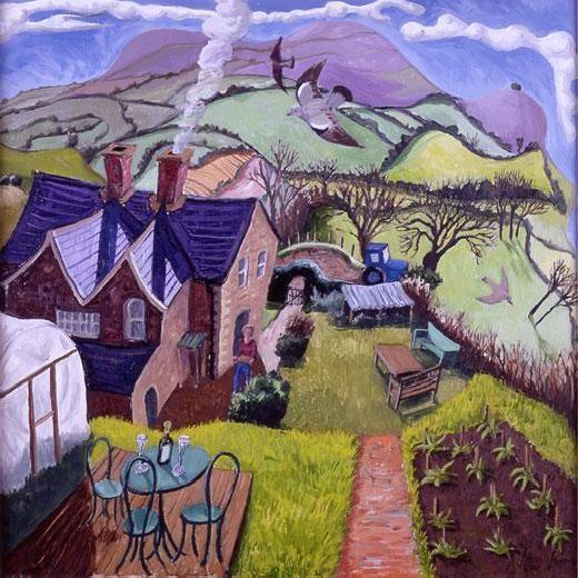 Francis Farmar - Dorset Outlook Alvediston