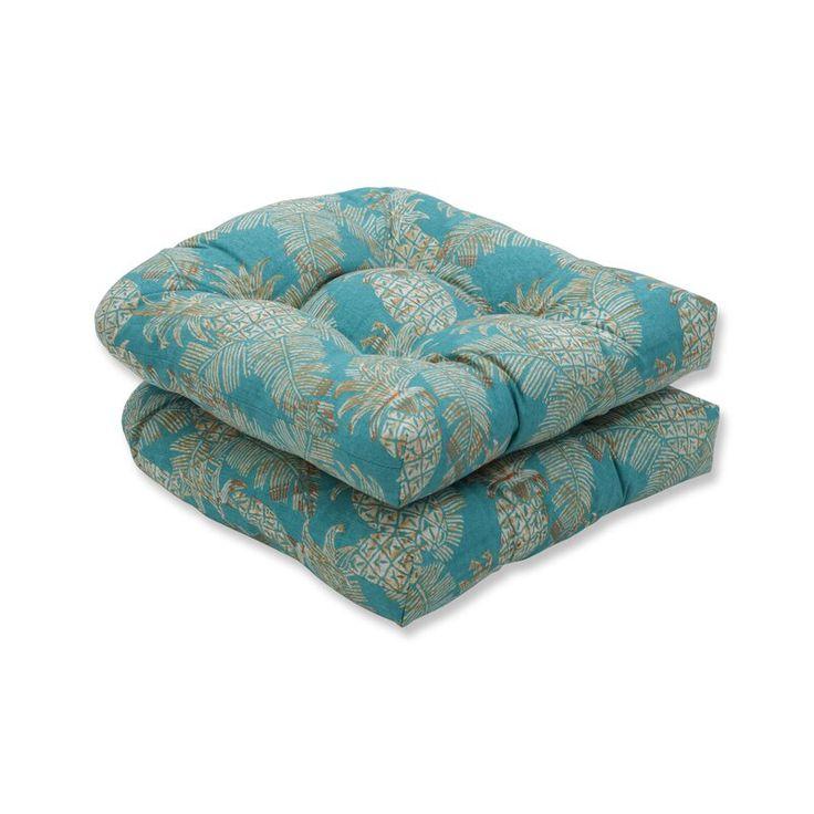 Emeline batik wicker indooroutdoor rocking chair cushion