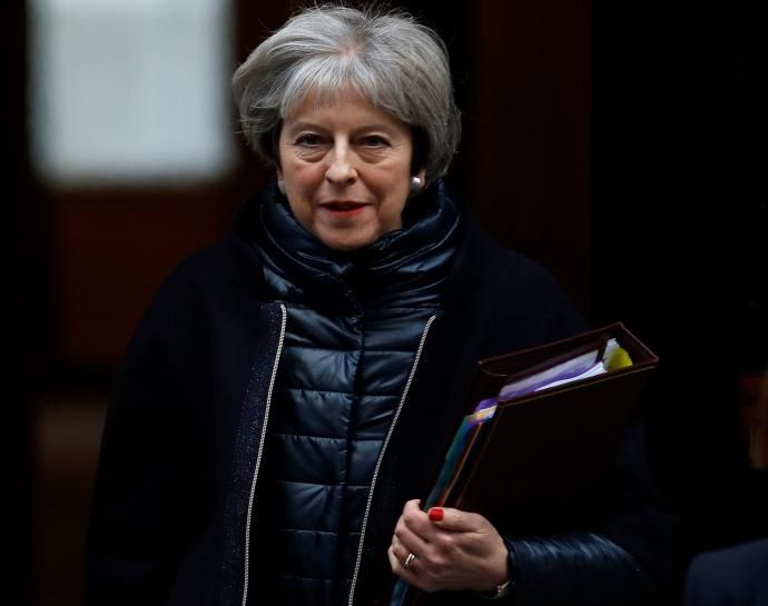 British Prime Minister Theresa May told bankers from firms such as Goldman Sachs on Thursday they were a priority for her in the Brexit talks, just as new warnings emerged of job losses in the London financial sector unless there is a trade deal.