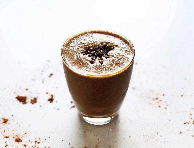 Mocha Mud Protein Smoothie - I Quit Sugar