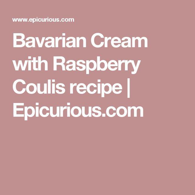 how to make bavarian cream