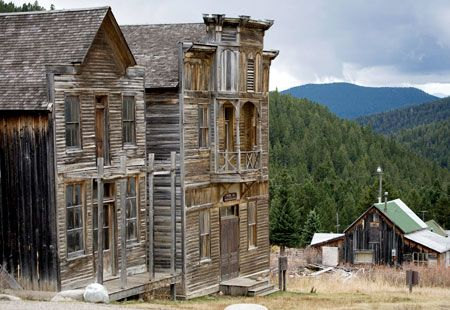 Abandoned buildings, Elkhorn, Mont. (© National Geographic Image Collection/Alamy). There are so many old ghost towns in Montana! http://x.vu/theracinginsidertips