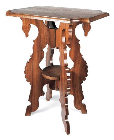 The Unsinkable Molly Brown's Parlor Table This little charmer folds flat, then sets up in seconds. By Tim Johnson This table is an accurate reproduction of one purchased by Molly Brown and her husband in the late 1880s, when they were starting their family in the rough mining town of Leadville, Colorado. It easily disassembles for transport so it could lend instant civility to a new home in unfamiliar surroundings. …