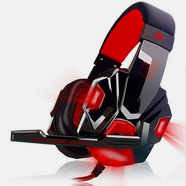 Stereo Gaming Headset PC Computer Headphones with Over-Ear noise cancelling