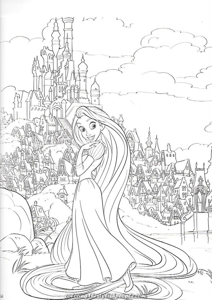 Charismatic Disney Tangled Coloring Web Page Tangled Coloring Pages Disney Coloring Pages Cartoon Coloring Pages