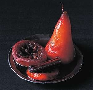 Poached pears, Pears and Search on Pinterest