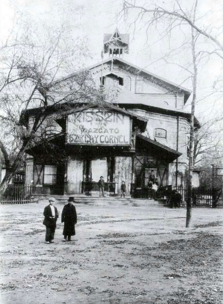 1915 Városliget Kisszín.