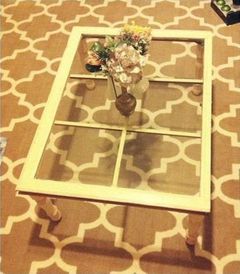 Do It Yourself Window Coffee Table