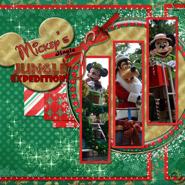 115 best images about disney christmas scrapbook ideas on for Christmas layout ideas