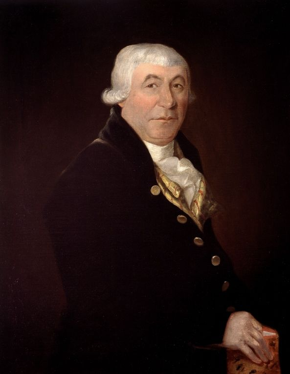 "James McGill (1744-1813), founder of McGill University in Montreal, a character in ""Dr. Sym Goes to Heaven"""