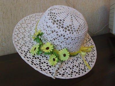 DE MIS MANOS TEJIDOS Y MAS...: Lindo sombrero
