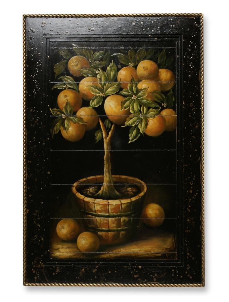 Lemon tree wood painting luscious lemons pinterest