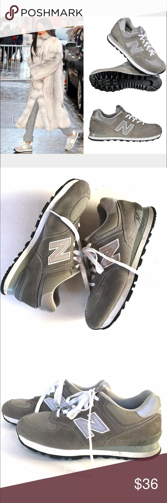 New Balance 574 size 8.5 Very good condition Gray New Balance 574 tennis shoes size 8.5. Super cute and so comfortable. New Balance Shoes Athletic Shoes