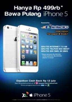 Ayo #AntriLikeAKing buat #XLiPhone5!    *as posted on XL Rame