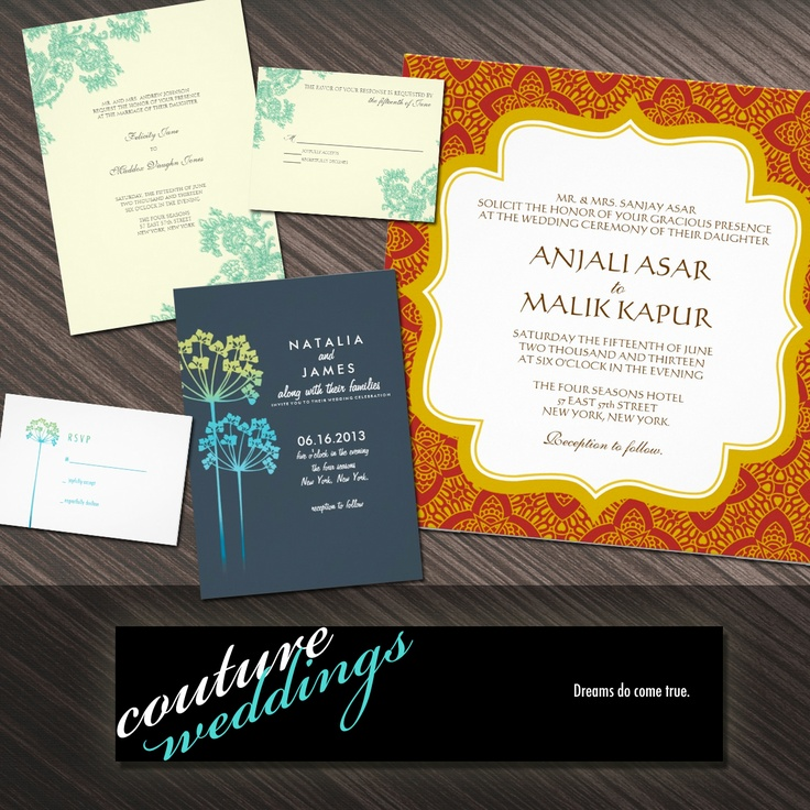 keralwedding card wordings in english%0A Couture Wedding Stationery at Budget Prices
