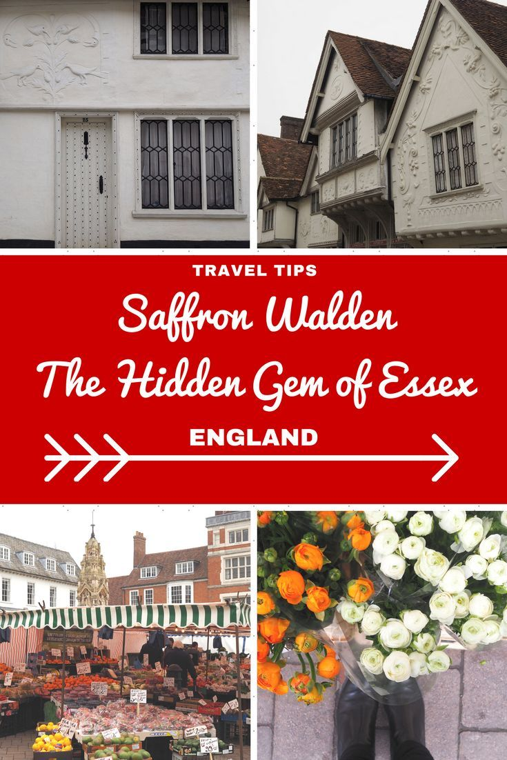 England Travel Inspiration - exploring Saffron Walden, the hidden gem of Essex! Home to Oliver Cromwell's headquarters, a large number of beautiful buildings with pargetting which just has to be seen to be believed and a lively Saturday market which has taken place since 1141 in the town. Saffron Walden is a perfect pit stop on a road trip through England and I also have a great little tip on where to find gluten free cake. Pop on over to the blog to read my travel tips for Saffron Walden…