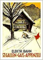 St. Gallen Switzerland Postcard