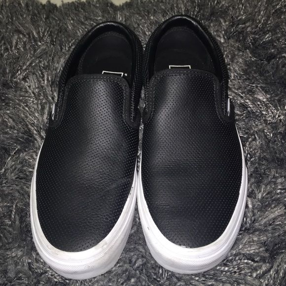 Buy white slip on vans size 4 65a41ae01