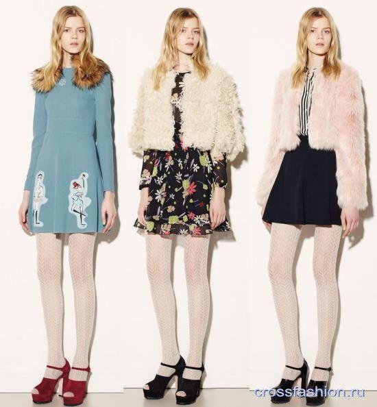 Как носить цветные колготки зимой 2016? Примеры модных сочетаний из коллекций