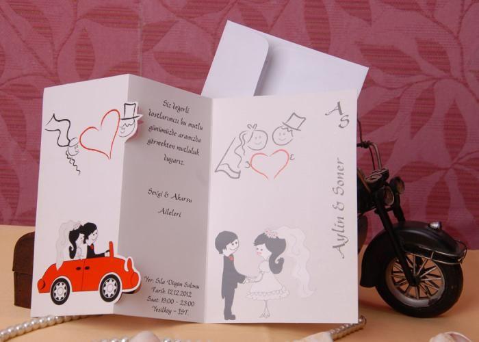 Düğün Davetiye, Düğün Davetiyesi, Düğün Davetiyeleri. Davetiye, Wedding invitation