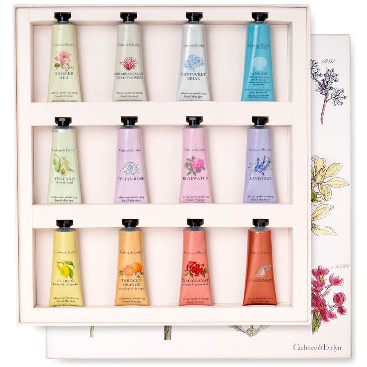 Buy Crabtree & Evelyn Hand Therapy Gift Set 12 x 25g (Worth £96) , luxury skincare, hair care, makeup and beauty products at Lookfantastic.com with Free Delivery.