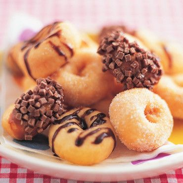 Petits beignets pour Mardi gras