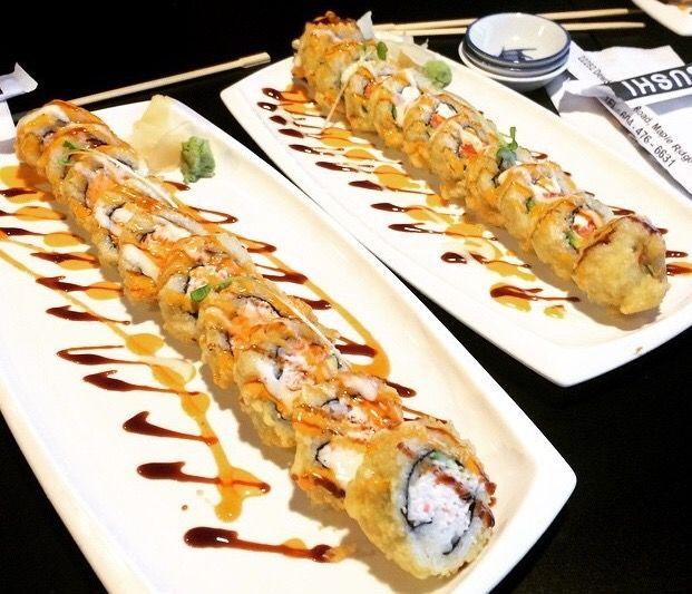 Types of Sushi Rolls: Description with Photos: Crazy Boy Roll, photo Alaskan Rolls, Dragon Sushi, Kappa Maki.. Invented in America... The Philadelphia roll...