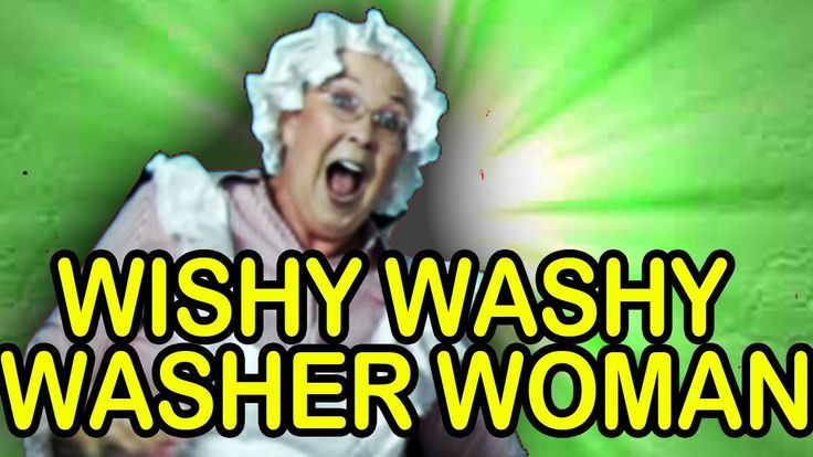 Wishy Washy Washer Woman - The Learning Station, via YouTube.