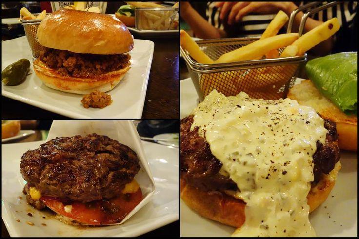 みなさんのバーガー左上がスロッピージョー左下がワイルドアウト右がタルタルスペシャル タルタルスペシャルはカスタムオーダーなのでメニューにはありません 笑#food #foodporn #meallog #burger #burger_jp #ハンバーガー # #tw