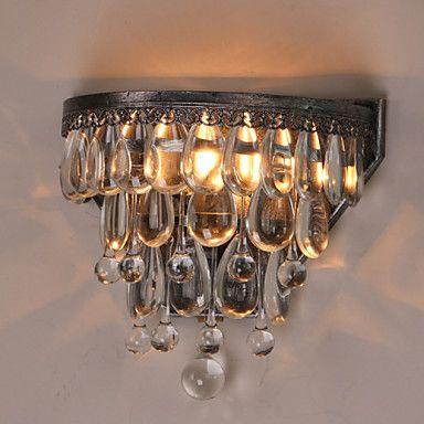 Купить Настенные бра утюг ткань кристалл современный из светодиодов стены свет лампы с 2 фары для домашнего освещения освещение бесплатная доставкаи другие товары категории Настенные светильникив магазине JIAHE LED LIGHTINGнаAliExpress. Датчик света лампы и дизайн светильника