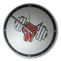 Часы настенные - Гантеля