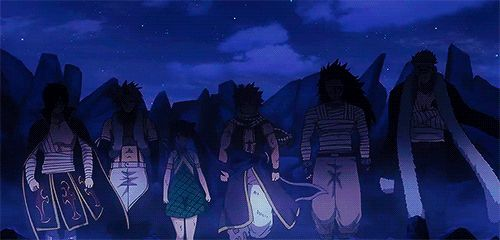 Fairy Tail Dragon Slayers...love that walk...they mean business