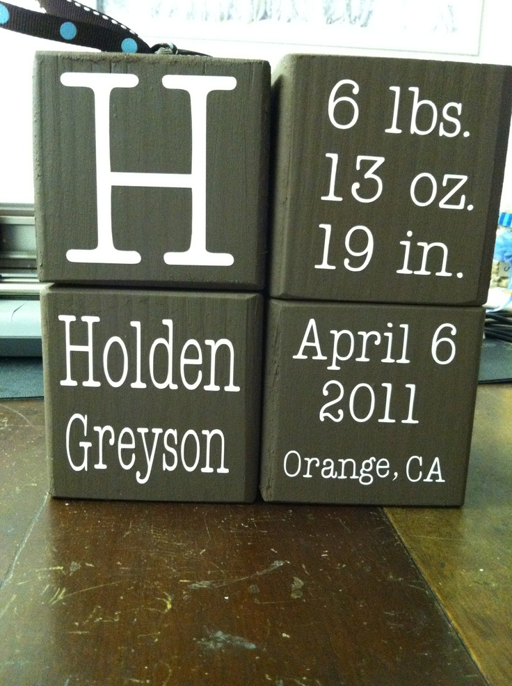 Holden  name blocks